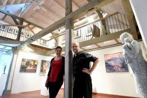 Eine Galerie im alten Bauernhaus